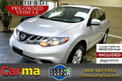 2012 Nissan Murano for sale in Duluth, GA
