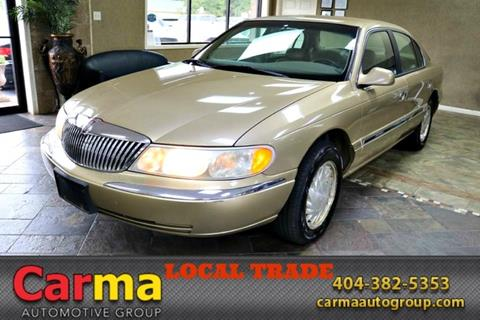 1998 Lincoln Continental for sale in Duluth, GA