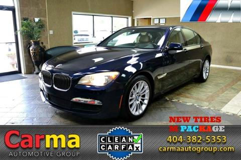 2010 BMW 7 Series for sale in Duluth, GA