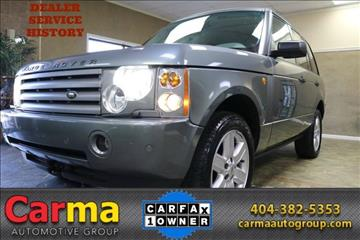 2005 Land Rover Range Rover for sale in Duluth, GA