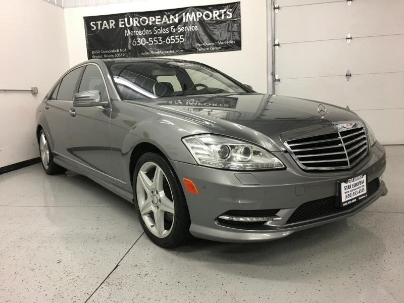 2011 Mercedes-Benz S-Class S550 4MATIC AWD 4dr Sedan - Yorkville IL