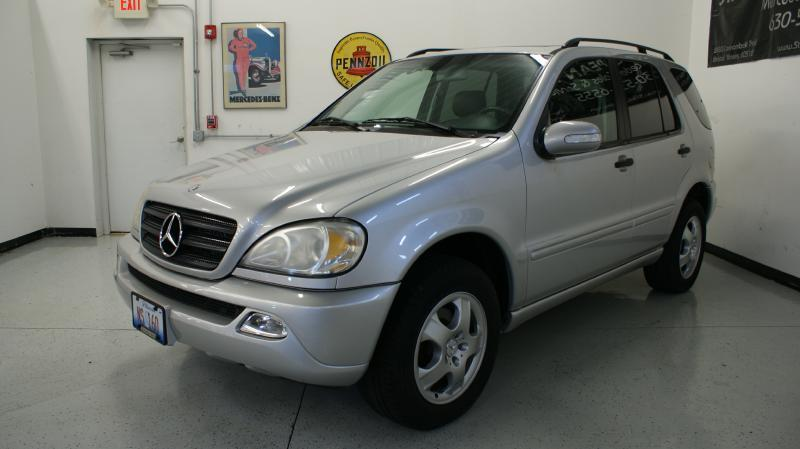 2002 Mercedes-Benz M-Class AWD ML 320 4MATIC 4dr SUV - Yorkville IL