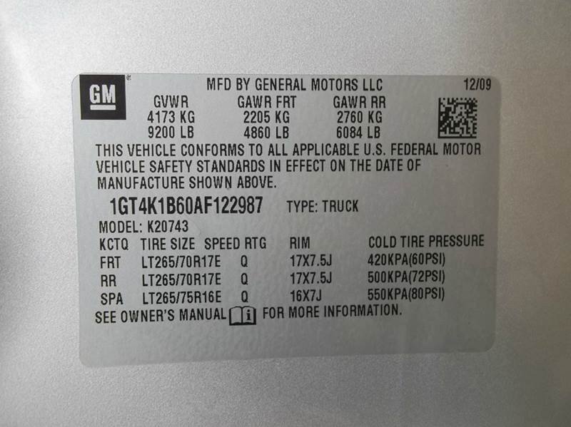 2010 GMC Sierra 2500HD SLT 4x4 4dr Crew Cab SB - Laurel MS