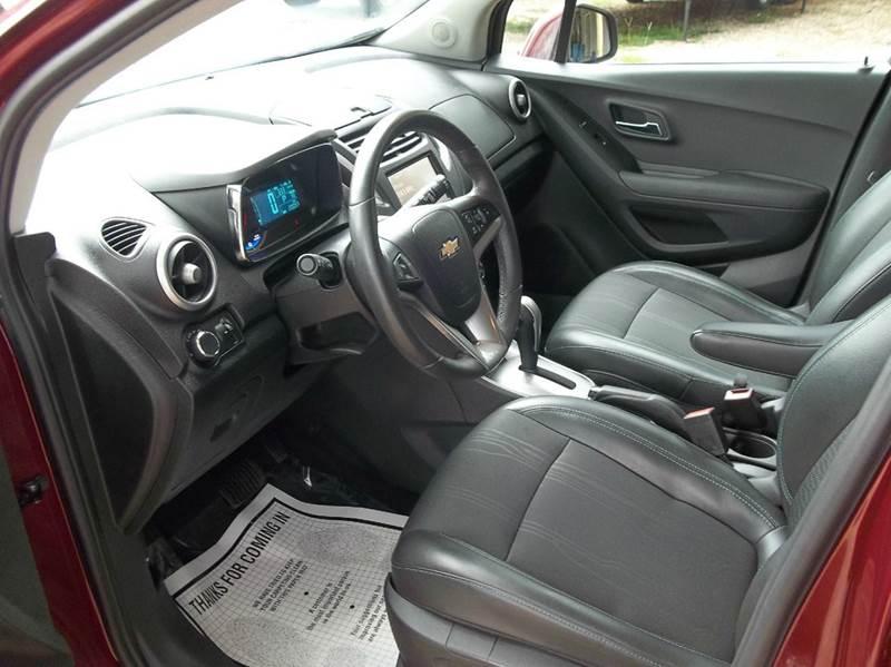 2016 Chevrolet Trax LT 4dr Crossover w/1LT - Laurel MS