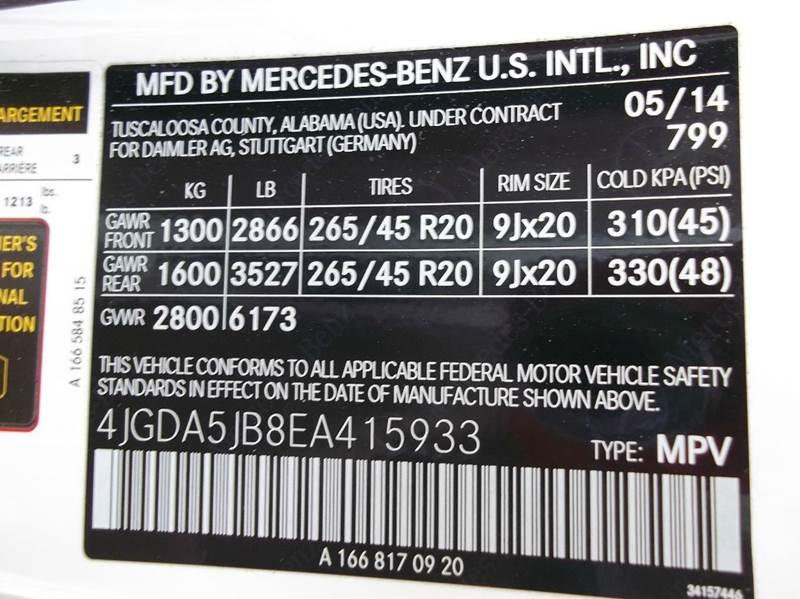 2014 Mercedes-Benz M-Class ML 350 4dr SUV - Laurel MS