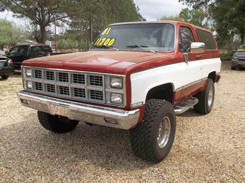 1981 GMC Jimmy for sale in Laurel, MS