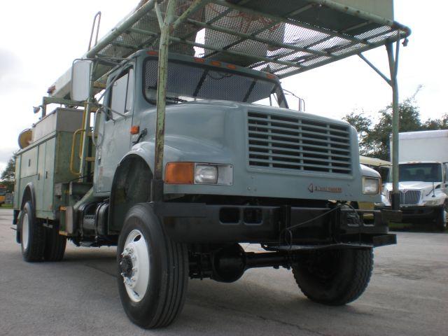1992 International 4900 4 X 4 DT diesel engine