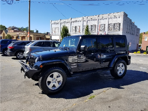 2010 Jeep Wrangler Unlimited for sale in Marion, VA