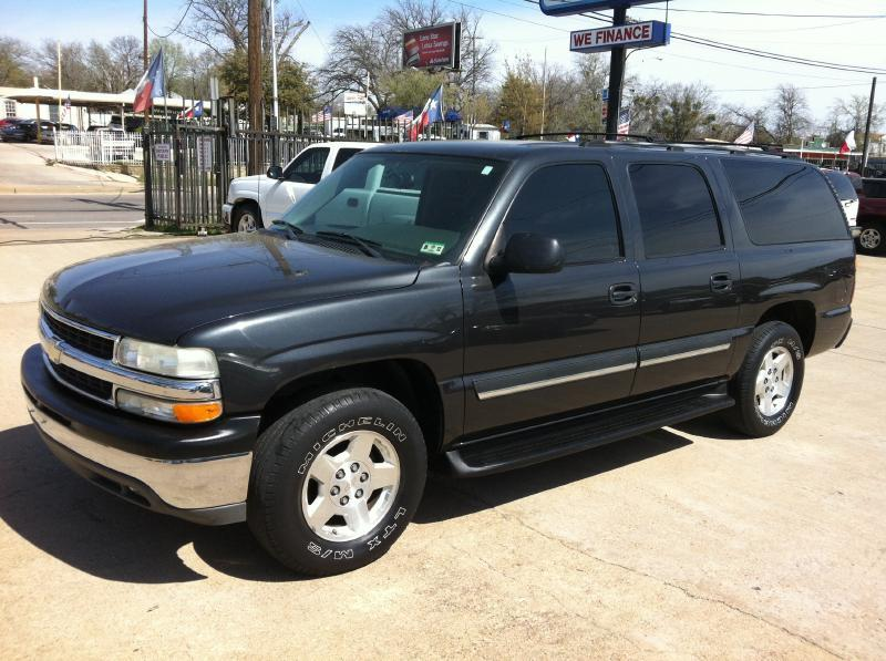2004 chevrolet suburban 1500 lt 4dr suv in dallas tx. Black Bedroom Furniture Sets. Home Design Ideas