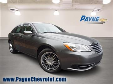 2012 Chrysler 200 for sale in Springfield, TN