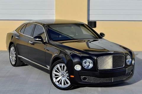 2013 Bentley Mulsanne for sale in Royal Palm Beach, FL