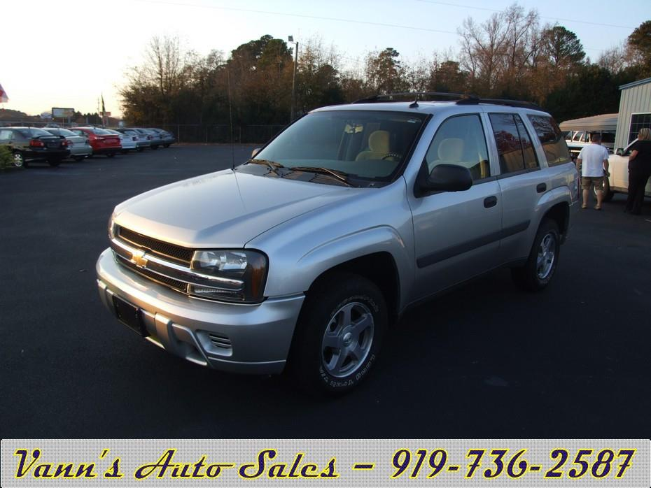 sales of goldsboro nc 2005 chevrolet trailblazer ls 4dr suv. Cars Review. Best American Auto & Cars Review