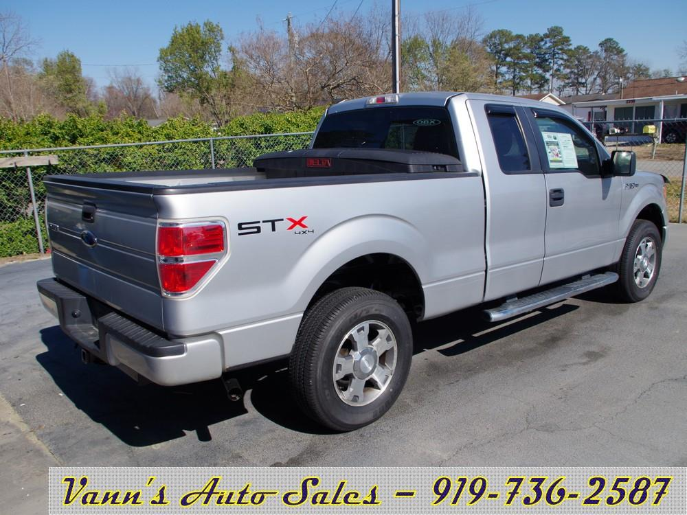 2010 ford f 150 4x4 stx 4dr supercab styleside 6 5 ft sb in goldsboro nc vanns auto sales. Black Bedroom Furniture Sets. Home Design Ideas
