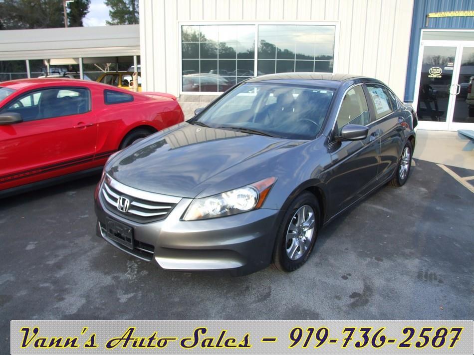 2011 Honda Accord Se 4dr Sedan In Goldsboro Nc Vanns