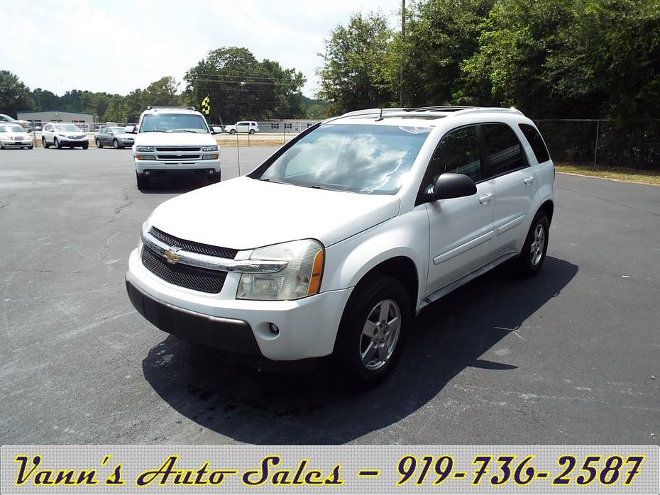 of goldsboro nc 2005 chevrolet equinox lt awd 4dr suv. Cars Review. Best American Auto & Cars Review