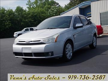 2008 Ford Focus for sale in Goldsboro, NC
