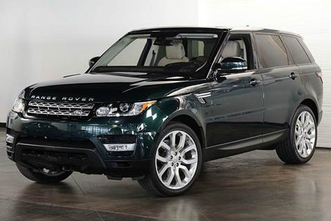 2016 Land Rover Range Rover Sport for sale in Wilbraham MA