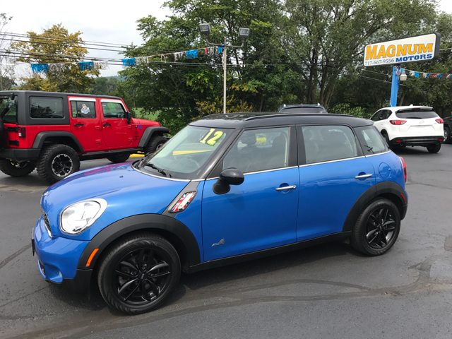 2012 MINI Cooper Countryman AWD S ALL4 4dr Crossover - Reedsville PA