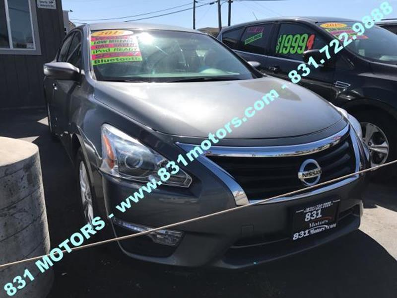 Used nissan for sale in watsonville ca for Victory motors chesterfield mi