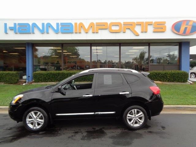 2013 NISSAN ROGUE SV AWD 4DR CROSSOVER super black one owner abs brakes alloy wheels driver