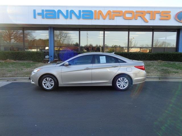 2011 HYUNDAI SONATA GLS 4DR SEDAN camel pearl abs brakes air conditioning a