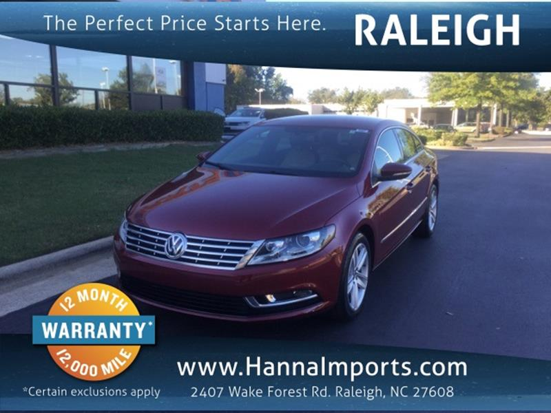 Volkswagen Cc For Sale In Raleigh Nc