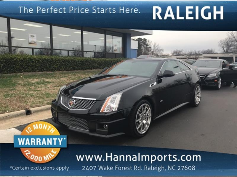 Cadillac CTSV For Sale In Raleigh NC Carsforsalecom - Cadillac dealer raleigh nc