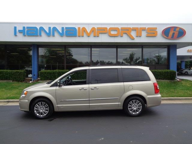 2014 CHRYSLER TOWN AND COUNTRY TOURING-L 4DR MINI VAN cashmeresandstone pearlcoat leather the h