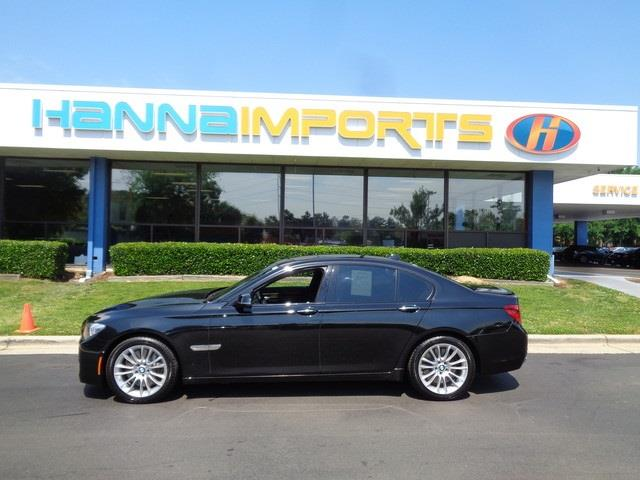 2013 BMW 7 SERIES 750I XDRIVE AWD 4DR SEDAN black sapphire metallic 2013 bmw 7 series 750i xdrive