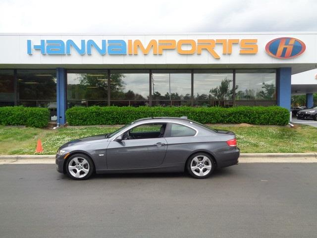 2007 BMW 3 SERIES 328I 2DR COUPE gray carfax accident free one owner an