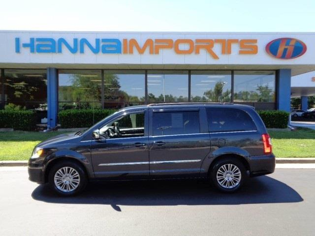2014 CHRYSLER TOWN AND COUNTRY TOURING-L 4DR MINI VAN brilliant black crystal pearlc 2014 chrysle