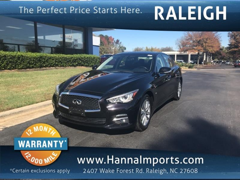 Impex Auto Sales Greensboro >> Used Infiniti Q50 For Sale in North Carolina - Carsforsale.com