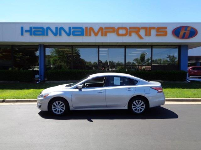 2014 NISSAN ALTIMA 25 4DR SEDAN brilliant silver metallic one owner 4d se