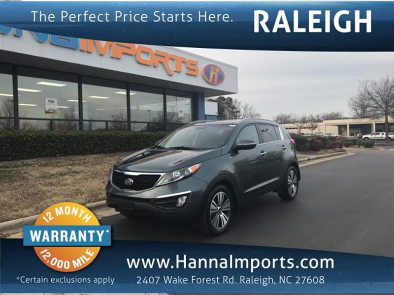 2014 Kia Sportage For Sale In Raleigh, NC