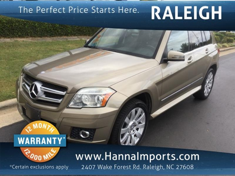Used 2010 mercedes benz glk for sale in north carolina for Mercedes benz south blvd charlotte nc