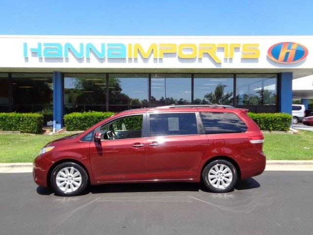 2013 TOYOTA SIENNA XLE 7-PASSENGER AWD 4DR MINI VAN unspecified awd call us now join us at hann