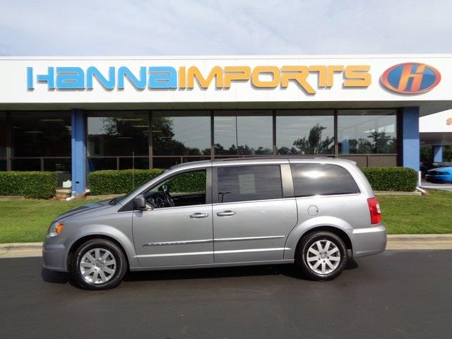 2014 CHRYSLER TOWN AND COUNTRY TOURING 4DR MINI VAN billet silver metallic clearco 2014 chrysler