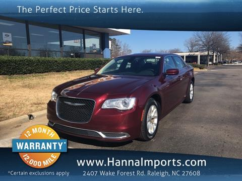 Used 2016 Chrysler 300 For Sale In North Carolina Carsforsale Com