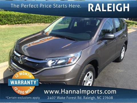 2015 Honda CR-V for sale in Raleigh, NC