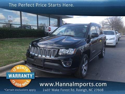 2016 Jeep Compass for sale in Raleigh, NC