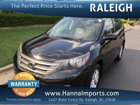 2012 Honda CR-V for sale in Raleigh, NC