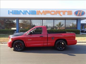 2005 Dodge Ram Pickup 1500 SRT-10 for sale in Raleigh, NC