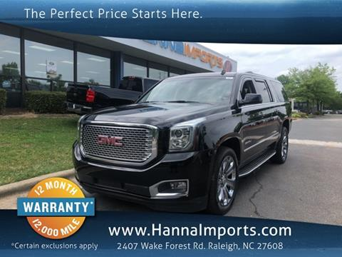 2015 GMC Yukon XL for sale in Raleigh, NC