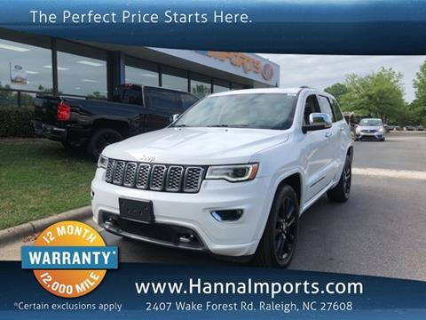 2017 Jeep Grand Cherokee for sale in Raleigh, NC