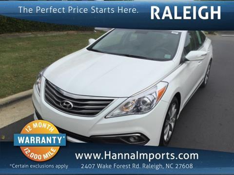 2016 Hyundai Azera for sale in Raleigh, NC