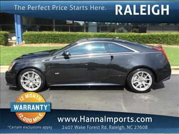 2013 Cadillac CTS-V for sale in Raleigh, NC