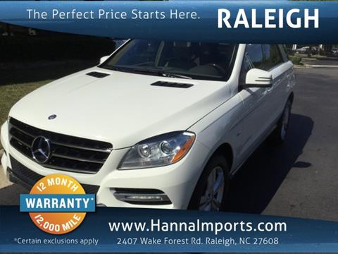 2012 Mercedes-Benz M-Class for sale in Raleigh, NC