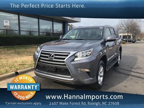 2016 Lexus GX 460 for sale in Raleigh, NC