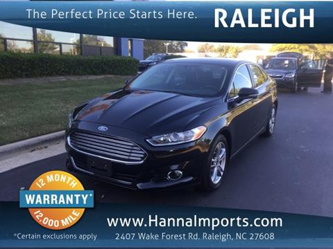 2015 Ford Fusion Hybrid for sale in Raleigh, NC