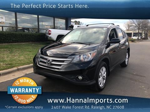 2013 Honda CR-V for sale in Raleigh, NC